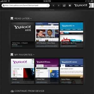 Yahoo isi lanseaza propriul browser: Axis