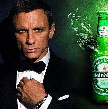 Agentul 007, noua imagine a Heineken
