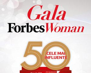 Gala Forbes Woman.  Topul Forbes 50 Cele Mai Influente Femei din Romania