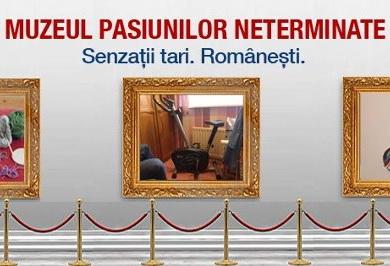 Meteahna romaneasca buna de pus in vitrina: ROM a deschis Muzeul Pasiunilor Neterminate