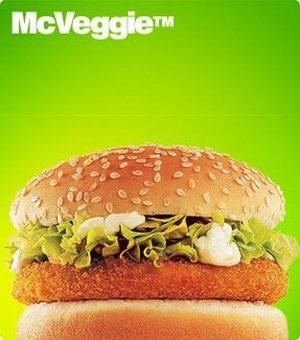 Surprize, surprize: McDonald's devine vegetarian
