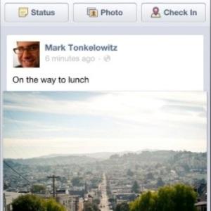 Facebook pentru mobil primeste un redesign: fotografiile vor fi de trei ori mai mari