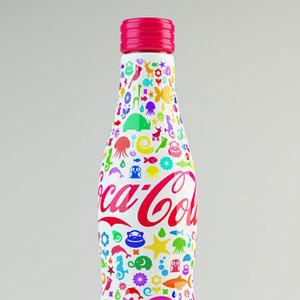 Coca-Cola in editie pentru copii