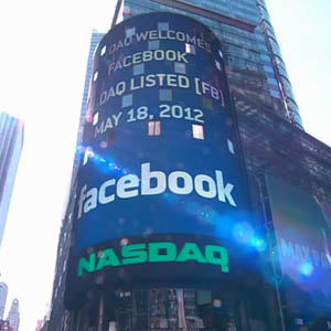 Actiunile Facebook in scadere, se cauta vinovatul