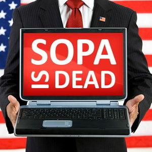 SOPA a murit. Traiasca internetul!