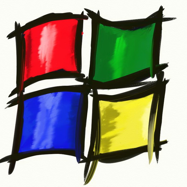 Evolutia unui logo: Microsoft