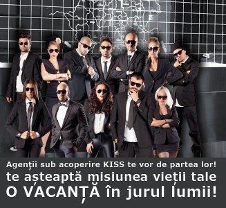 Aplicatie cu 13 vedete si 13 agenti secreti Kiss FM