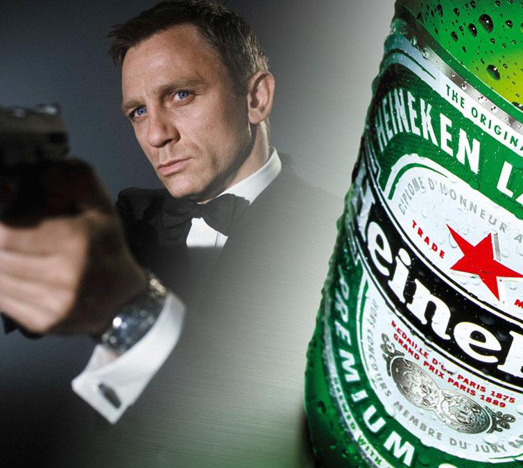 Heineken si valiza misterioasa din fata sediului BNR