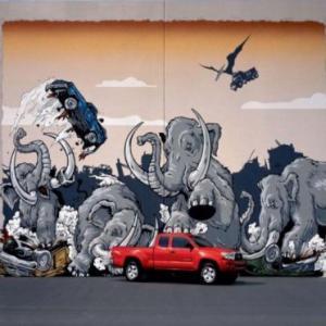 Publicitate murala: 15 reclame realizate in graffiti