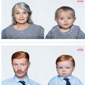 Aplicatia Evian Baby&Me iti arata bebelusul interior
