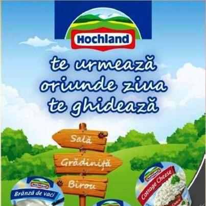 New in town, conceptul de lansare a 5 noi produse Hochland