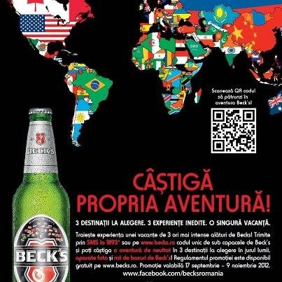 In jurul lumii cu Beck's