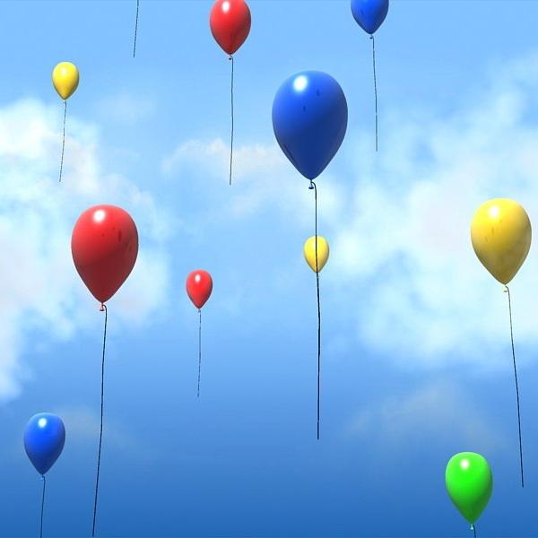 HP agata dorintele lumii de baloane colorate