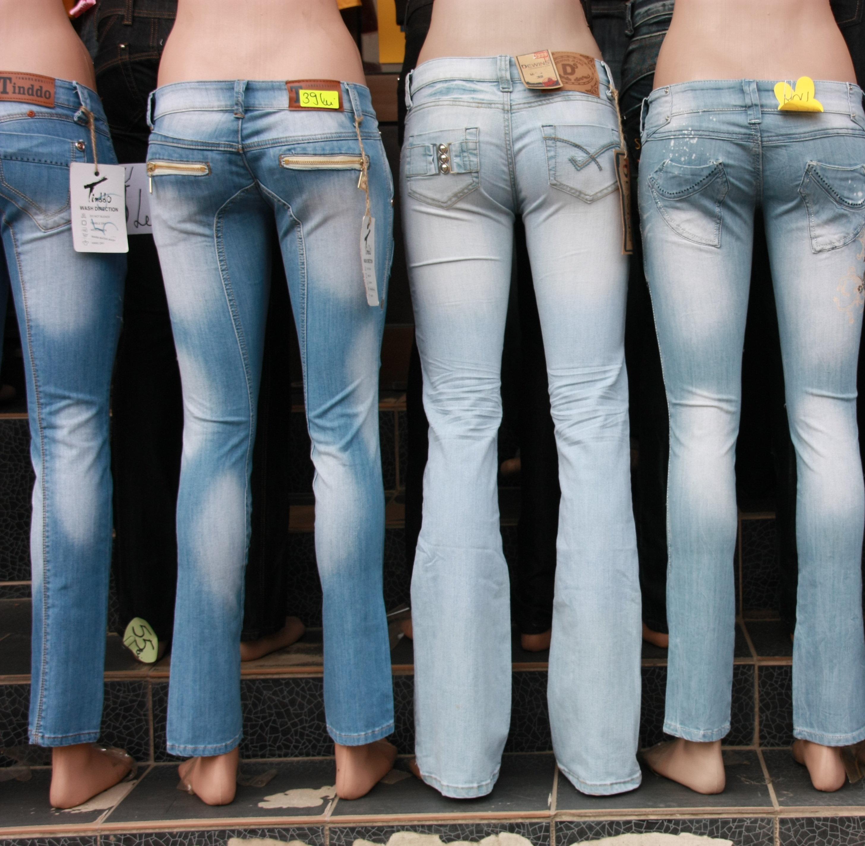 Benetton a creat jeansii pentru toate formele si marimile