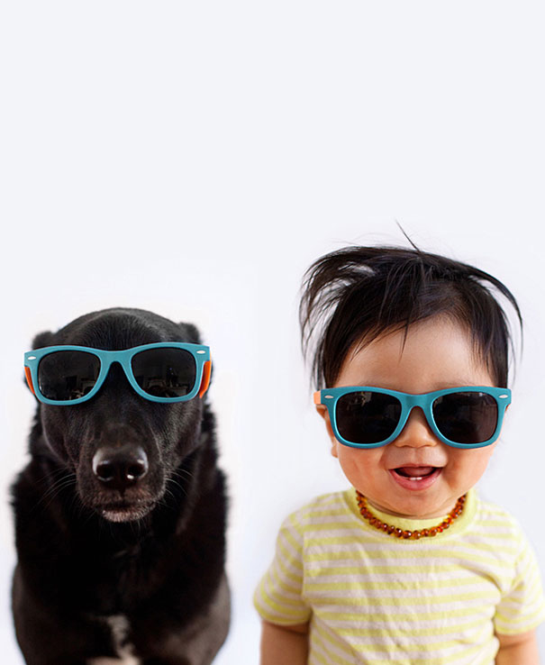 Fotografii cu copii si catei