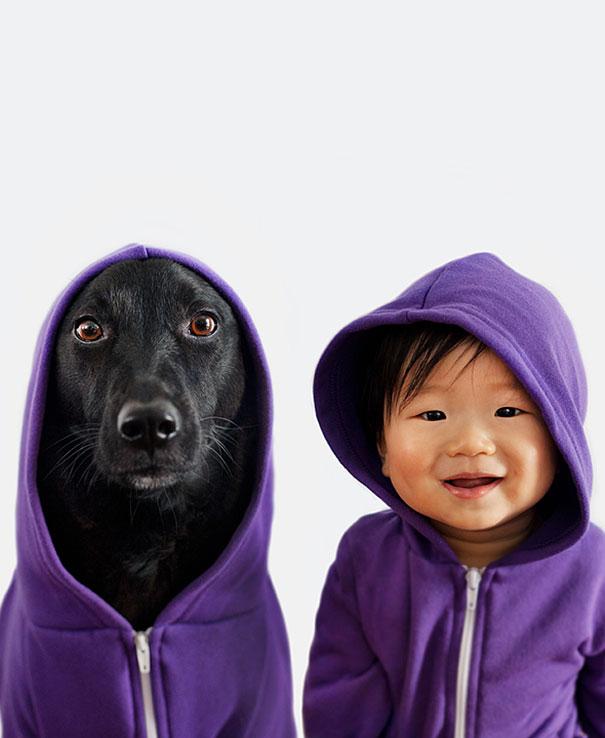 copii si catei