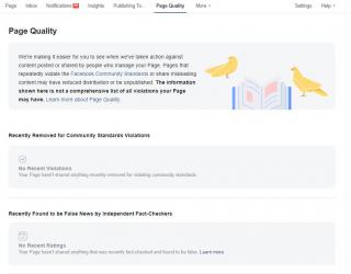 Facebook a introdus noi modalitati de evaluare a paginilor