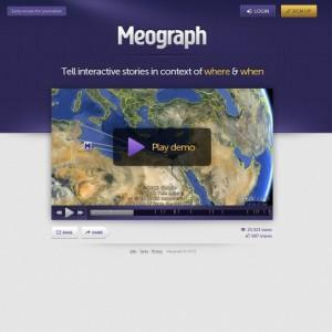 Meograph: Instrumentul care te ajuta sa creezi o poveste 4D interactiva