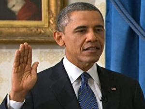 Al doilea juramant pentru Obama