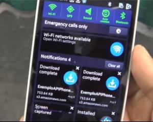 Samsung lanseaza un smartphone cu propriul sistem de operare: Tizen