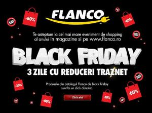 Black Friday in social media si in magazine