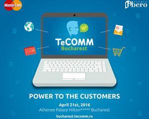 Retailerii online se intalnesc in Capitala la TeCOMM - Conferinta de eCommerce