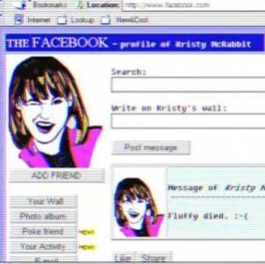 Facebook, Twitter si Google, in varianta retro